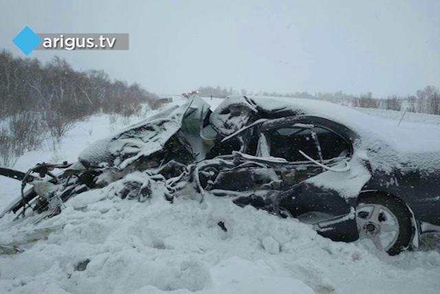 ВСеленгинском районе столкнулись монгольский автобус ибурятская иностранная машина