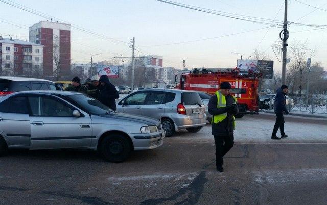 ВУлан-Удэ случилось ДТП с 2-мя пострадавшими