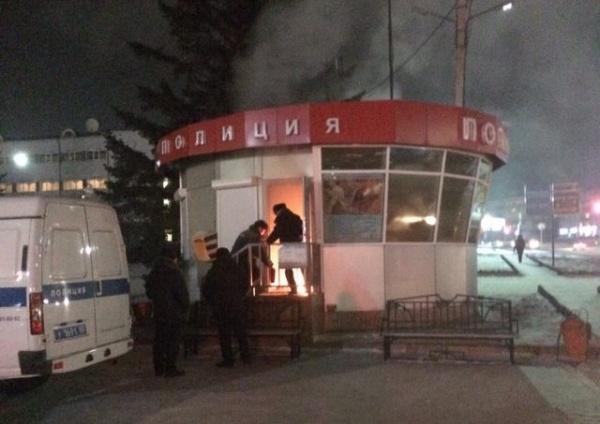 Поджигатель полицейского поста вУлан-Удэ планировал нападение наодно иззданий властей