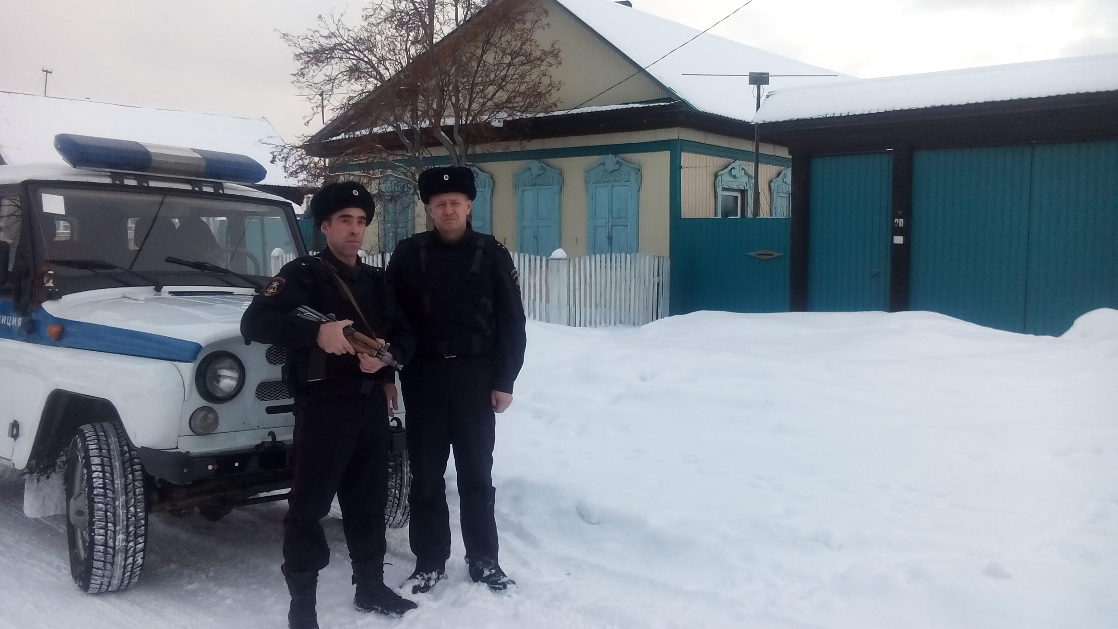 Ушел домой: ВБурятии неудавшегося вора задержали последам наснегу